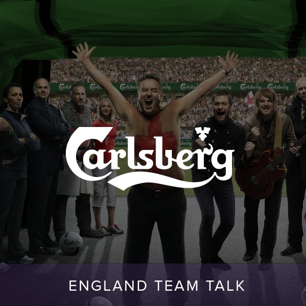 Carlsberg England Team Talk
